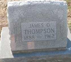 THOMPSON, JAMES OSCAR - Cooke County, Texas | JAMES OSCAR THOMPSON - Texas Gravestone Photos