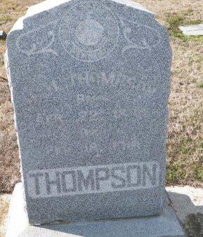 THOMPSON, JOHN JAMES - Cooke County, Texas   JOHN JAMES THOMPSON - Texas Gravestone Photos