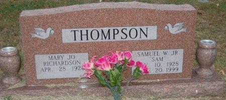 THOMPSON, MARY JO - Cooke County, Texas | MARY JO THOMPSON - Texas Gravestone Photos