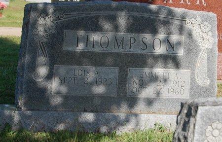 THOMPSON, EMMETT ALLEN - Cooke County, Texas | EMMETT ALLEN THOMPSON - Texas Gravestone Photos