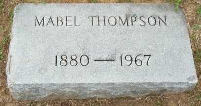 THOMPSON, MABEL - Cooke County, Texas | MABEL THOMPSON - Texas Gravestone Photos