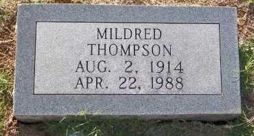 THOMPSON, MILDRED - Cooke County, Texas   MILDRED THOMPSON - Texas Gravestone Photos