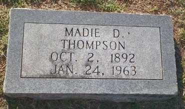 THOMPSON, MADIE - Cooke County, Texas   MADIE THOMPSON - Texas Gravestone Photos