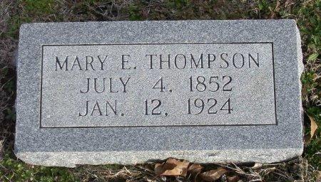 THOMPSON, MARY E. - Cooke County, Texas | MARY E. THOMPSON - Texas Gravestone Photos