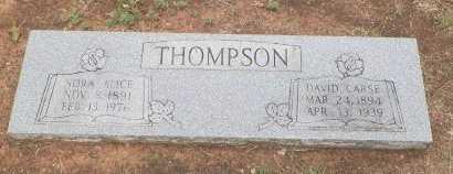 THOMPSON, DAVID CARSE - Cooke County, Texas   DAVID CARSE THOMPSON - Texas Gravestone Photos