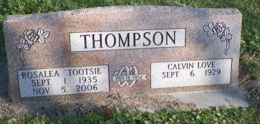 THOMPSON, ROSALEA - Cooke County, Texas   ROSALEA THOMPSON - Texas Gravestone Photos