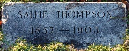 THOMPSON, SALLIE - Cooke County, Texas   SALLIE THOMPSON - Texas Gravestone Photos