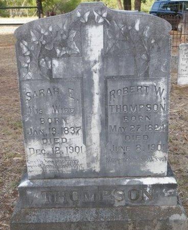 MYERS THOMPSON, SARAH ELLA - Cooke County, Texas | SARAH ELLA MYERS THOMPSON - Texas Gravestone Photos