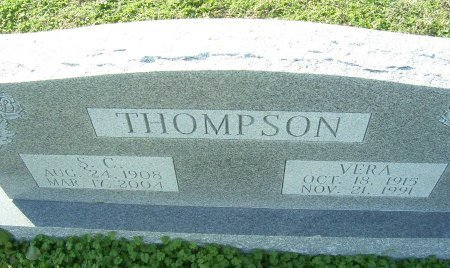 THOMPSON, VERA - Cooke County, Texas | VERA THOMPSON - Texas Gravestone Photos
