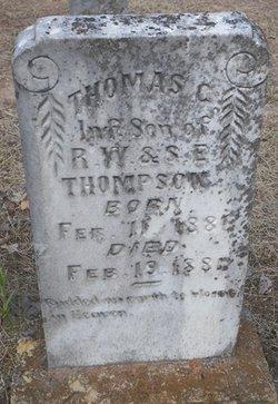 THOMPSON, THOMAS C. - Cooke County, Texas   THOMAS C. THOMPSON - Texas Gravestone Photos