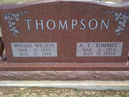 THOMPSON, WANDA - Cooke County, Texas   WANDA THOMPSON - Texas Gravestone Photos