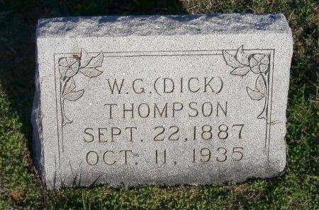 THOMPSON, WALDO G. (DICK) - Cooke County, Texas | WALDO G. (DICK) THOMPSON - Texas Gravestone Photos