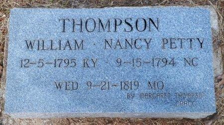 THOMPSON, WILLIAM - Cooke County, Texas | WILLIAM THOMPSON - Texas Gravestone Photos