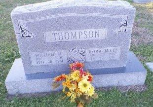 THOMPSON, HOMA - Cooke County, Texas   HOMA THOMPSON - Texas Gravestone Photos