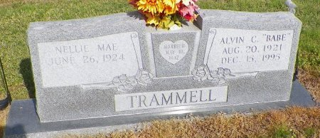 """TRAMMELL, ALVIN CLEVELAND """"BABE"""" - Cooke County, Texas 