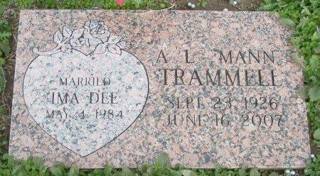 TRAMMELL, ARTHUR LEE MANN - Cooke County, Texas | ARTHUR LEE MANN TRAMMELL - Texas Gravestone Photos