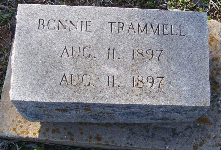 TRAMMELL, BONNIE - Cooke County, Texas | BONNIE TRAMMELL - Texas Gravestone Photos