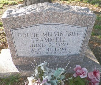 "TRAMMELL, DOFFIE MELVIN ""BILL"" - Cooke County, Texas 