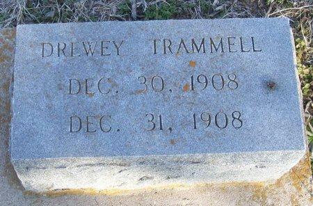 TRAMMELL, DREWEY - Cooke County, Texas   DREWEY TRAMMELL - Texas Gravestone Photos