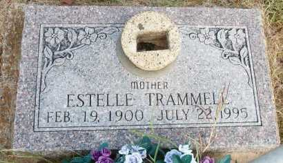 TRAMMELL, ESTELLE - Cooke County, Texas | ESTELLE TRAMMELL - Texas Gravestone Photos