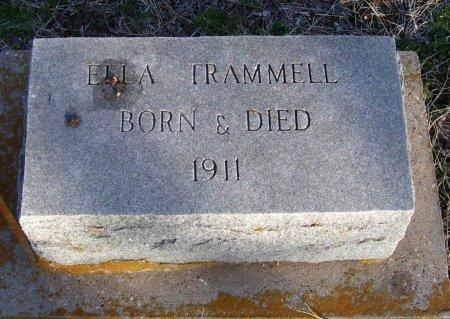 TRAMMELL, ELLA - Cooke County, Texas | ELLA TRAMMELL - Texas Gravestone Photos