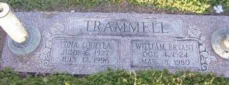 TRAMMELL, WILLIAM BRYANT - Cooke County, Texas | WILLIAM BRYANT TRAMMELL - Texas Gravestone Photos