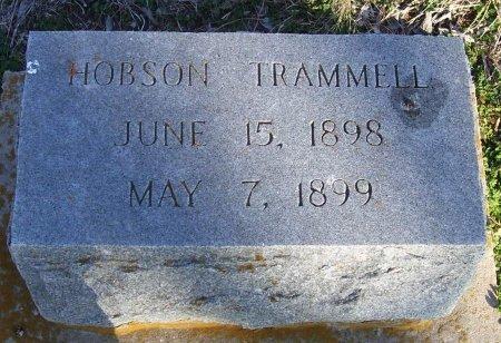 TRAMMELL, HOBSON - Cooke County, Texas   HOBSON TRAMMELL - Texas Gravestone Photos