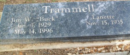 TRAMMELL, LANETTE MARGARET - Cooke County, Texas | LANETTE MARGARET TRAMMELL - Texas Gravestone Photos