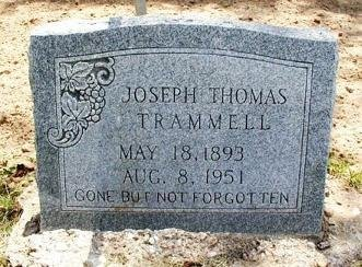 TRAMMELL, JOSEPH THOMAS - Cooke County, Texas | JOSEPH THOMAS TRAMMELL - Texas Gravestone Photos