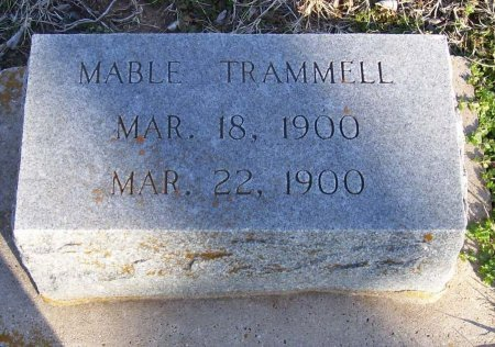 TRAMMELL, MABLE - Cooke County, Texas | MABLE TRAMMELL - Texas Gravestone Photos