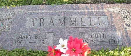 TRAMMELL, MARY BELL - Cooke County, Texas | MARY BELL TRAMMELL - Texas Gravestone Photos
