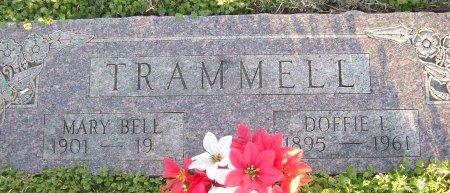 TRAMMELL, DOFFIE L. - Cooke County, Texas | DOFFIE L. TRAMMELL - Texas Gravestone Photos