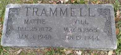 "TRAMMELL, JOHN WILLIAM ""WILL"" - Cooke County, Texas 