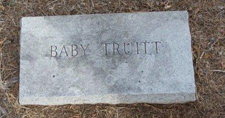 TRUITT, BABY - Cooke County, Texas | BABY TRUITT - Texas Gravestone Photos