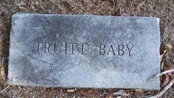 TRUITT, BABY - Cooke County, Texas   BABY TRUITT - Texas Gravestone Photos