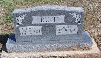 TRUITT, GEORGIA IRENE - Cooke County, Texas | GEORGIA IRENE TRUITT - Texas Gravestone Photos