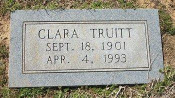 TRUITT, CLARA - Cooke County, Texas   CLARA TRUITT - Texas Gravestone Photos
