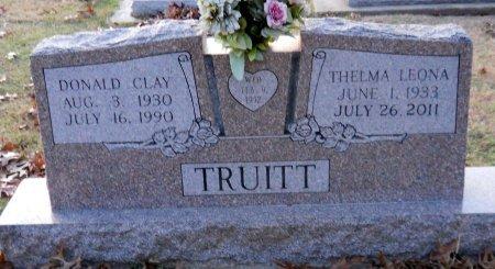 TRUITT, DONALD CLAY - Cooke County, Texas | DONALD CLAY TRUITT - Texas Gravestone Photos