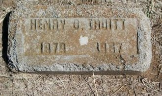 TRUITT, HENRY BLAKELY (OLD STONE) - Cooke County, Texas | HENRY BLAKELY (OLD STONE) TRUITT - Texas Gravestone Photos