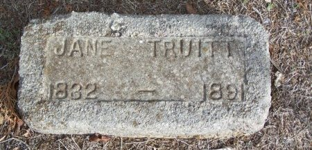 TRUITT, JANE - Cooke County, Texas | JANE TRUITT - Texas Gravestone Photos