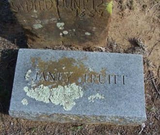 TRUITT, JANEY - Cooke County, Texas | JANEY TRUITT - Texas Gravestone Photos