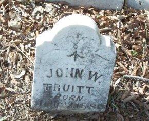 TRUITT, JOHN W. - Cooke County, Texas   JOHN W. TRUITT - Texas Gravestone Photos