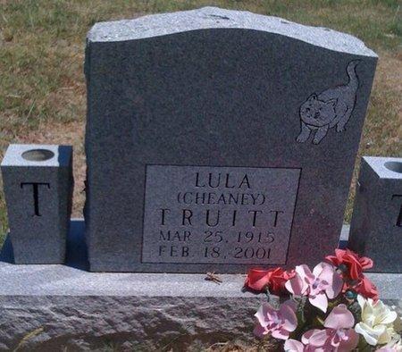 TRUITT, LULA CHEANEY - Cooke County, Texas | LULA CHEANEY TRUITT - Texas Gravestone Photos