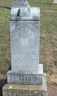 TRUITT, MAGGIE M. - Cooke County, Texas | MAGGIE M. TRUITT - Texas Gravestone Photos