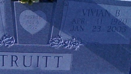 TRUITT, VIVIAN - Cooke County, Texas | VIVIAN TRUITT - Texas Gravestone Photos