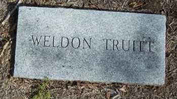 TRUITT, WELDON - Cooke County, Texas | WELDON TRUITT - Texas Gravestone Photos