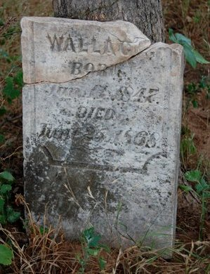 WALLACE, H. S. - Cooke County, Texas | H. S. WALLACE - Texas Gravestone Photos