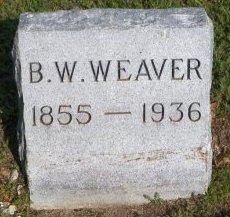 WEAVER, B. W. - Cooke County, Texas | B. W. WEAVER - Texas Gravestone Photos