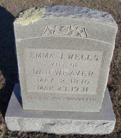 WEAVER, EMMA J. - Cooke County, Texas | EMMA J. WEAVER - Texas Gravestone Photos