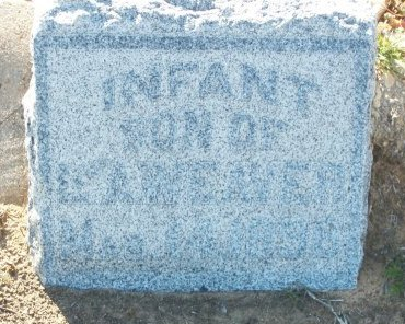WEAVER, INFANT SON - Cooke County, Texas | INFANT SON WEAVER - Texas Gravestone Photos